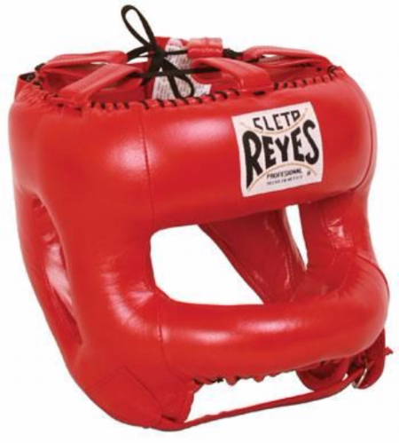 Cleto Reyes Rounded Facebar Headguard - Red